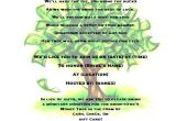 Bridal Shower Money Tree Invitation Wording Money Tree Bridal Shower Invitation by Partychickie On