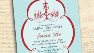 Bridal Shower Tea Party Invitation Wording Bridal Shower Invitations Tea Party Bridal Shower