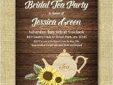 Bridal Shower Tea Party Invitations Etsy Best 25 Rustic Tea Party Ideas On Pinterest