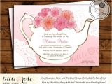 Bridal Tea Party Invitations Free Bridal Tea Party Invitation Bridal Shower Invite Baby