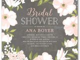 Bride to Be Bridal Shower Invitations Beautiful Bouquet 5×5 Stationery Bridal Shower Invitations