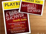 Broadway themed Party Invitations Broadway Playbill Invitation theater themed Nyc