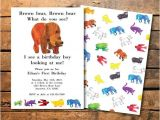 Brown Bear Brown Bear Birthday Party Invitations 23 Best Brown Bear Brown Bear 1st Birthday Images On