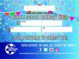 Bubble soccer Party Invitations Bubble soccer Scotland Children 39 S Birthday Parties