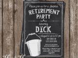 Bucket List Party Invitations Bucket List Retirement Invitation Bucket List Invite