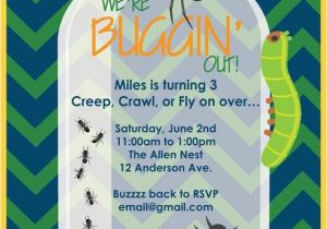 Bug Party Invitation Template 25 Best Bug Insect Ideas On Pinterest