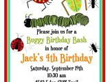 Bug Party Invitation Template Bug Birthday Party Invitations Mickey Mouse Invitations