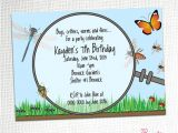 Bug Party Invitation Template Bug Hunt Party Invitation by Party Printables