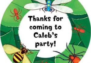 Bug Party Invitation Template Bugs Stickers Stickers & Party Supplies