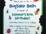 Bug Party Invitation Template Contemporary Bug Party Invitations Inspiration