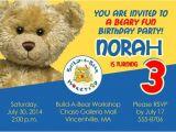 Build A Bear Party Invitations Printable Build A Bear Birthday Barty Invitations Ideas Bagvania