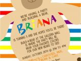 Build A Bear Party Invitations Printable Build A Bear Inspired Invitation Build A Bear Invitation