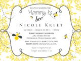 Bumble Bee Baby Shower Invitation Diy Printable Baby Shower Invitations Mommy to Bee Baby Shower