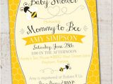 Bumble Bee Baby Shower Invitation Diy Printable Bumble Bee Baby Shower Invitation Printable Mommy to Bee