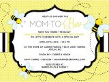 "Bumble Bee themed Baby Shower Invitations Bee Baby Shower Invitation ""mom to ""bee"" Bee themed"