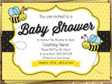Bumble Bee themed Baby Shower Invitations Bumblebee Baby Shower Ideas Baby Ideas