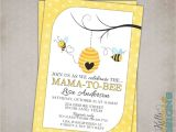 Bumblebee Baby Shower Invitations Bumble Bee Baby Shower Invitation Custom Printable Mommy to