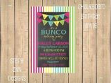 Bunco Birthday Party Invitations Bunco Birthday Party Invite by Stephanndesigns On Etsy