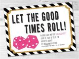 Bunco Birthday Party Invitations Bunco Game Night Party Invitation