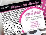 Bunco Party Invitations Bunco Birthday Invitation Bunco Invitation Bunco Birthday