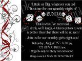 Bunco Party Invitations Bunco Bunko Party Invitations Diy Prints Ebay