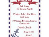 Bunco Party Invitations Bunco Invite Red White and Blue Zazzle Com