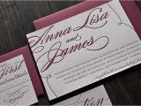 Burgundy and White Wedding Invitations Burgundy and Silver Wedding Invitations
