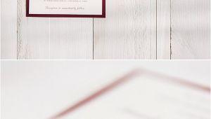 Burgundy and White Wedding Invitations Burgundy Wedding Colors Stylish Wedd Blog