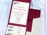 Burgundy and White Wedding Invitations Print Your Own Burgundy Wedding Invitations Burgundy
