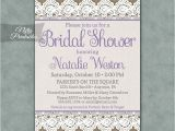 Burlap and Lace Bridal Shower Invitations Burlap Lace Bridal Shower Invitations Nifty Printables