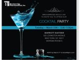 Business Cocktail Party Invitations Custom Corporate event Ecards and Electronic Invitations