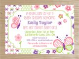 Butterfly Baby Shower Invitations Printable Free How to Free Printable butterfly Baby Shower Invitations 2k