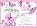 Butterfly Baby Shower Invites Free butterfly Baby Shower Invitations – Gangcraft