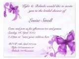 Butterfly Bridal Shower Invitations butterfly Bridal Shower Invitations