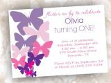 Butterfly themed Baby Shower Invitations butterfly Invitations Printable Birthday by Primroseandpark