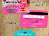 Butterfly themed Quinceanera Invitations butterfly