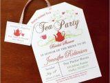Buy Bridal Shower Invitations Bridal Shower Tea Party Invitations