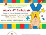 Caillou Party Invitations Caillou Birthday Invitations W Address Labels and Envelope