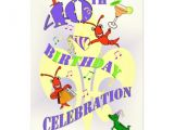 Cajun themed Party Invitations Cajun themed 40th Birthday Party Invitation Zazzle
