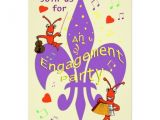 Cajun themed Party Invitations Cajun themed Engagement Party Invitation Zazzle