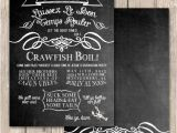 Cajun themed Party Invitations Items Similar to Cajun Crawfish Boil Invitations Unique