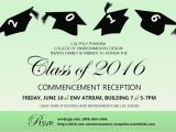 Cal Poly Pomona Graduation Invitations 2016 Env Commencement Reception Tickets Fri Jun 10 2016