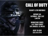Call Of Duty Birthday Party Invitations Call Of Duty Birthday Party theme Ideas & Supplies