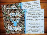 Camo Baby Boy Shower Invitations Little Boy Blue Camo Baby Shower Invitation