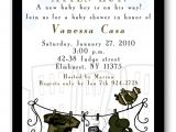 Camo Baby Boy Shower Invitations Tags Baby Monkey Shower theme Bunch Of Balloons