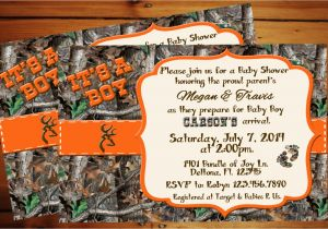 Camo Baby Shower Invites Camouflage Baby Shower Invitations