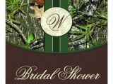 Camo Bridal Shower Invitations Brown Green Camo Wedding Bridal Shower Invitations