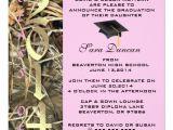 Camo Graduation Invitations Camo Classic Elegant 2014 Graduation Invitation Zazzle