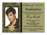 Camo Graduation Invitations Photo Camouflage Graduation Invitation 5 Quot X 7 Quot Invitation