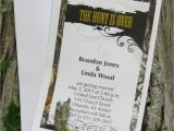Camo Wedding Invites 50 Mossy Camo the Hunt is Over Wedding Invitations